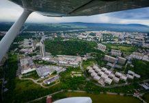 Vysokoškolské mesto Ľ.Štúra - Mlyny (foto Vladimír Kuric)